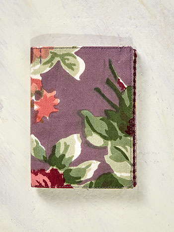 Cottage Rose Needle Book