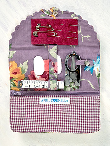 Cottage Rose Sewing Kit