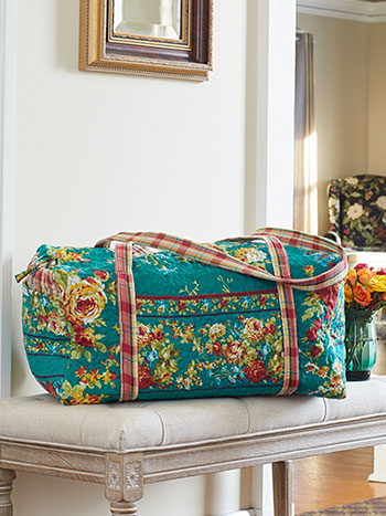 Cottage Rose Duffle