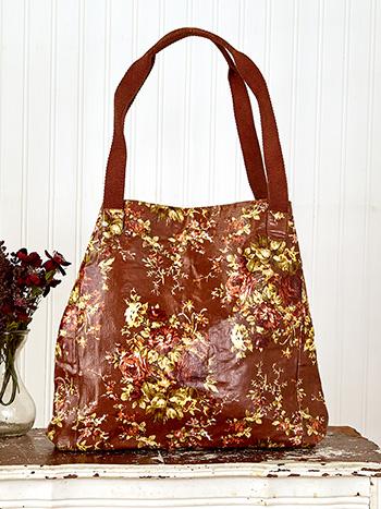 Cottage Rose Oil Cloth Everyday Shopper