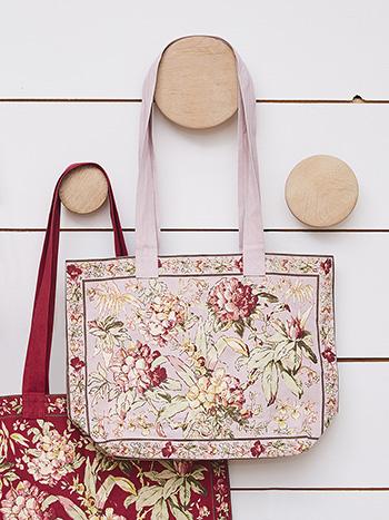 Hydrangea Dream Market Bag