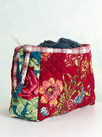 Jewel Patchwork Knitters Bag