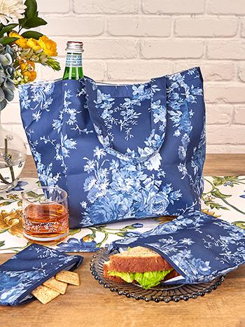 Cottage Rose Lunch Bag