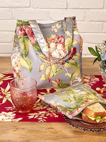Hydrangea Dream Lunch Bag