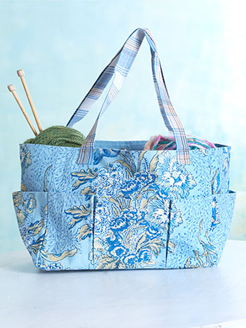 Jaipur Garden Carry-It-All Tote