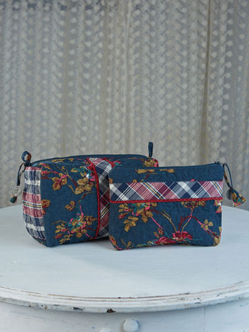 Wild Rose Cosmetic Bag Set