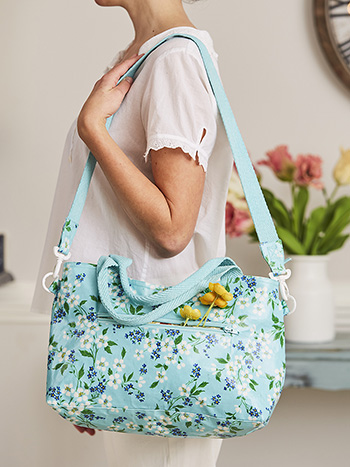 Spring Blossom Moon Bag