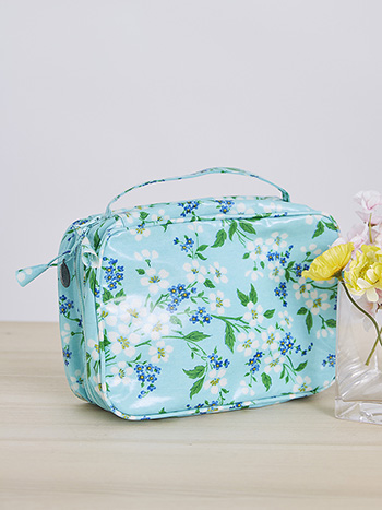 Spring Blossom Cosmetic Travel Case