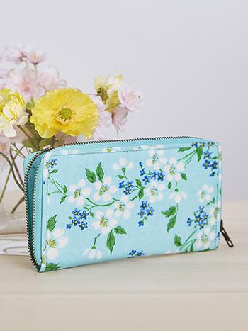 Spring Blossom Zip Wallet