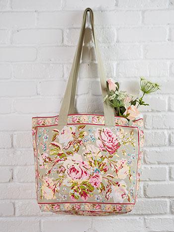 Victorian Rose Market Bag