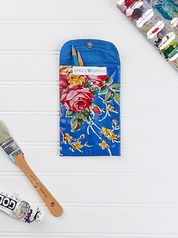 Viola Rose Large Keeper Pouch