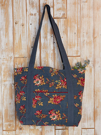 Wild Rose Market Bag