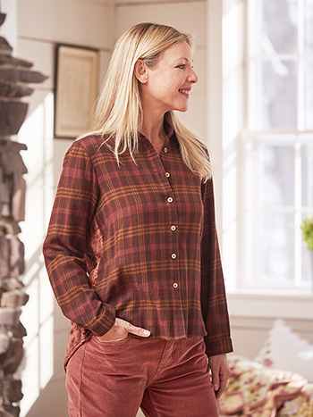 Timber Patchwork Blouse
