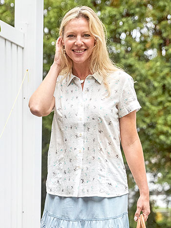 Camp Swallow Blouse