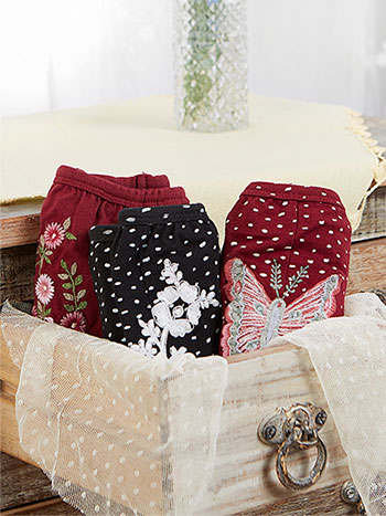 Tapestry Underwear Set of 3 - Granny Fit