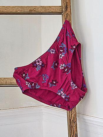 Pauline's Flower Underwear