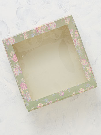 Victorian Rose Small Window Box