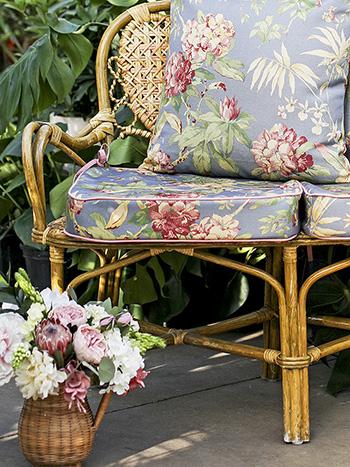 Hydrangea Dream Outdoor Chair Cushion