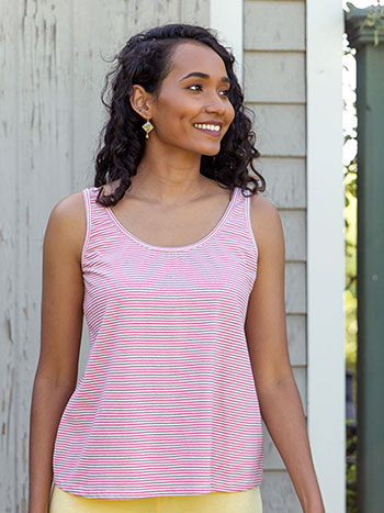 Sorbet Stripe Tank Top