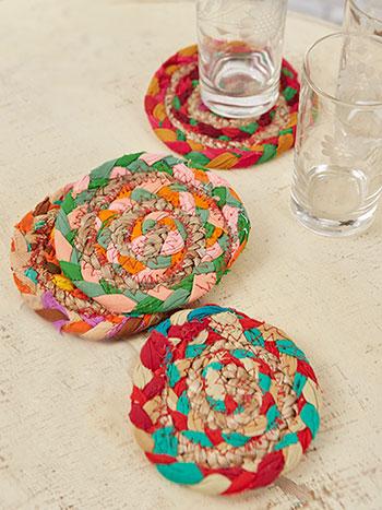 Manana Braid Coaster Set of 4