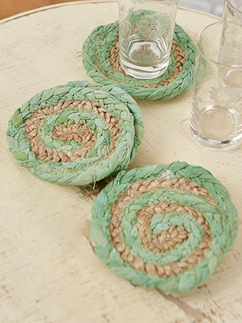 Manana Braid Coaster Set of 4