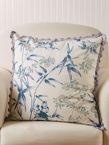 Bamboo Garden Cushion Cover