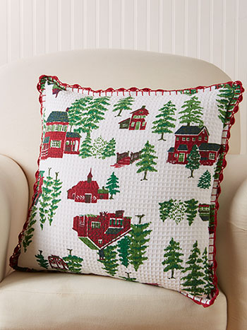 Christmas Village Cushion Cover