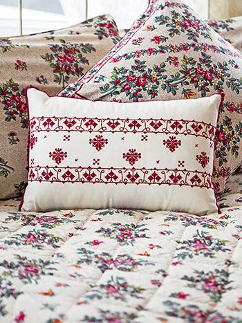 Lucia Embroidered Cushion