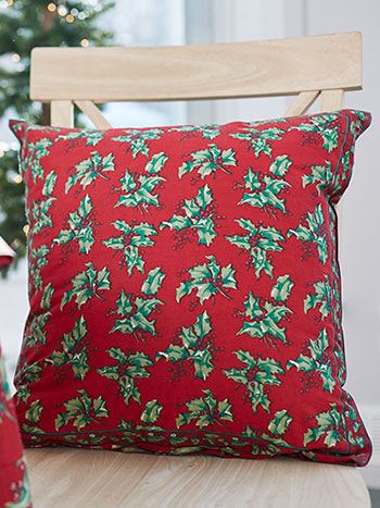 Holly Cushion Cover