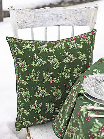 Holly Cushion Cover