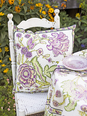 Jacobean Garden Cushion Cover