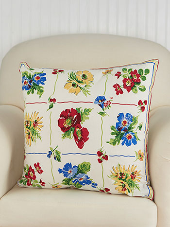 Poppy Patch Cushion Cover