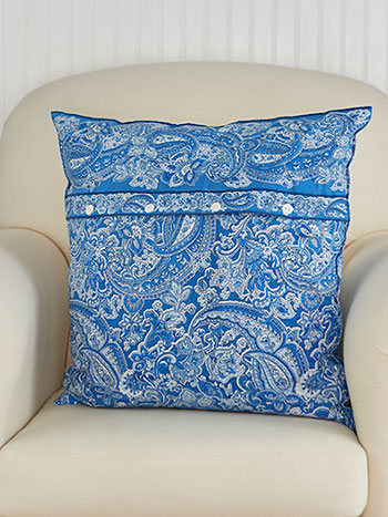 Priscilla's Paisley Cushion Cover