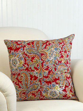 Rhapsody Paisley Cushion Cover