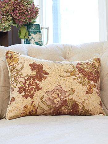 Jaipur Garden Velvet Cushion