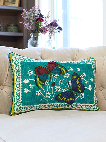 Mariposa Velvet Cushion