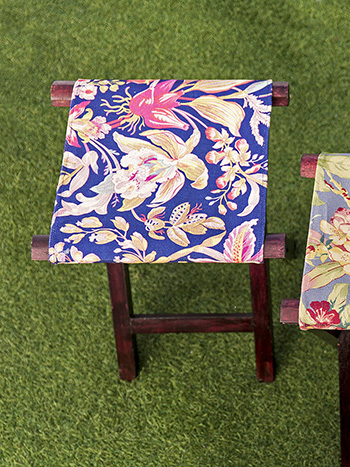 Orchid Study Outdoor Camp Stool