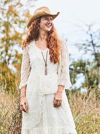 Somerset Lace Cover Up
