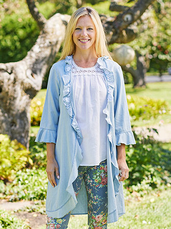 Jenny Denim Cover Up