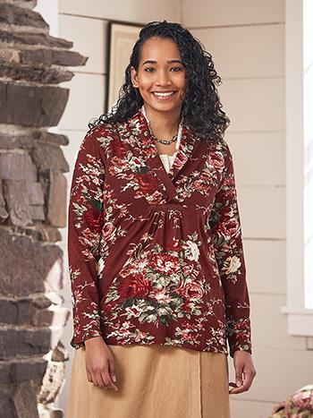Carolina Shawl Collar Pullover