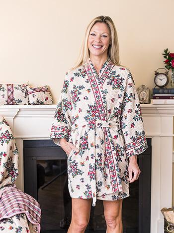 Belle Vue Honeycomb Kimono