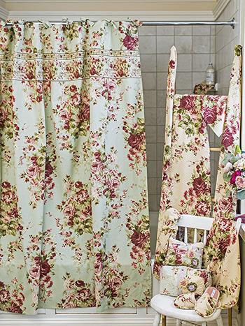 Cottage Rose Curtain