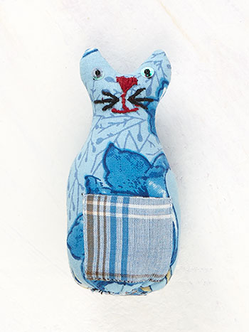 Jaipur Garden Cat Pin Cushion