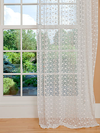 Nanette Net Curtain - Ecru