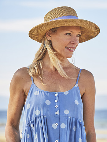 Packable Twill Sunhat