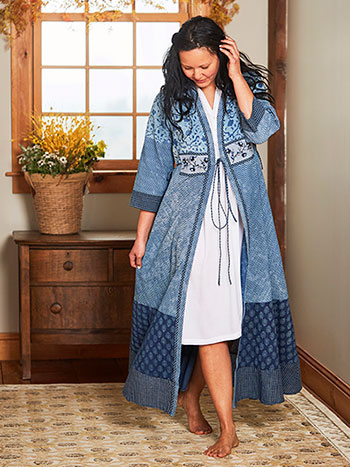 Bohemian Dressing Gown