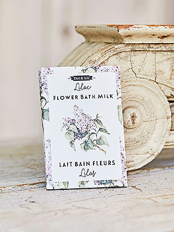 Lilac Flower Bath Sachet