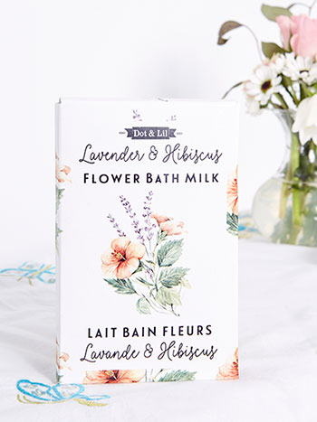 Lavender & Hibiscus Flower Bath Sachet
