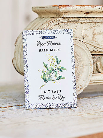 Rice Flower Bath Sachet