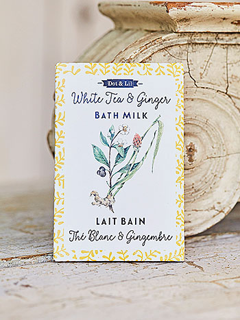 White Tea & Ginger Bath Sachet